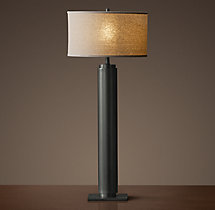 Cylindrical Column Buffet Lamp