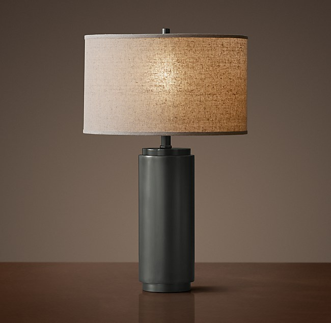 Cylindrical Column Accent Lamp
