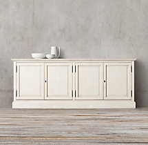 French Panel 4-Door Sideboard