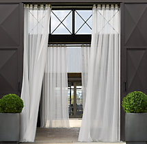 Outdoor Sheer Drapery - Grommet