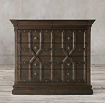 17th C. Castelló 5-Drawer Dresser