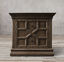"17th C. Castelló 32"" Closed Nightstand"
