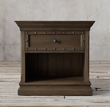 "17th C. Castelló 32"" Open Nightstand"