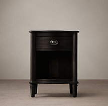"Empire Rosette 20"" Open Nightstand"