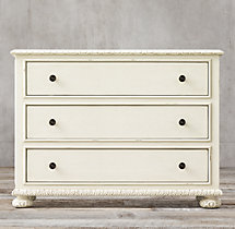 French Empire 3-Drawer Dresser