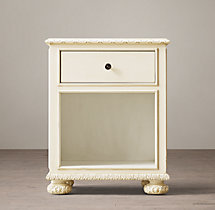 "24"" French Empire Open Nightstand"