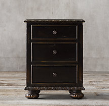 "20"" French Empire Closed Nightstand"