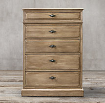 Montpellier 5-Drawer Narrow Dresser