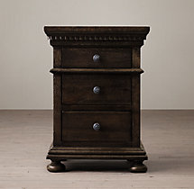 "St. James 20"" Extra-Narrow Closed Nightstand"
