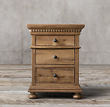 "St. James Extra-Narrow 20"" Closed Nightstand"