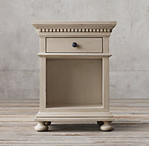 "St. James Extra-Narrow 20"" Open Nightstand"