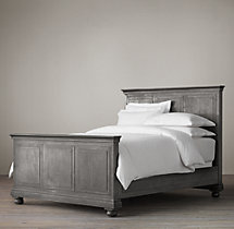 Annecy Metal-Wrapped Bed With Footboard