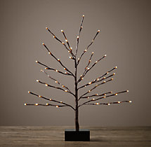 Bark Starlit Tree - 2'