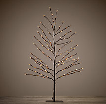 Bark Starlit Tree - 3'