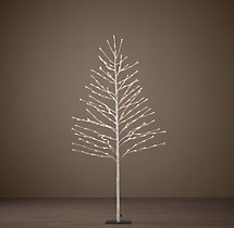 Snow Starlit Tree - 5'