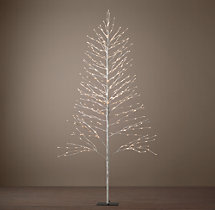 Snow Starlit Tree - 9'