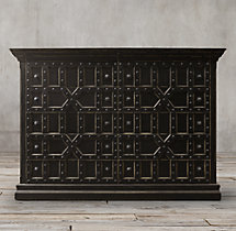 17th C. Castelló 12-Drawer Dresser