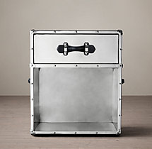 Trans–Atlantic Steamer Trunk 1-Drawer Cube