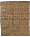 Basket Weave Jute Rug - Honey