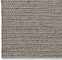 Chunky Mini Diamond Wool Rug Swatch - Grey
