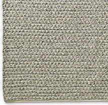 Chunky Mini Diamond Wool Rug Swatch - Light Grey