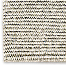 Chunky Contrast Twist Wool Rug Swatch - Ivory/Blue