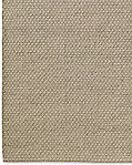 Diamond Lattice Wool Rug - Oatmeal