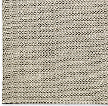Diamond Lattice Wool Rug Swatch - Charcoal