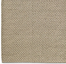 Diamond Lattice Wool Rug Swatch - Oatmeal