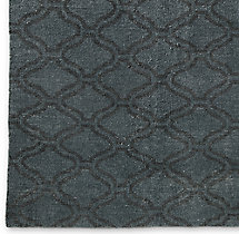 Tirah Rug Swatch - Dark Grey/Mocha