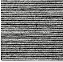 Double Stripe Flatweave Rug Swatch - Charcoal