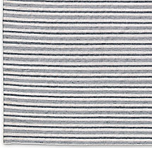 Double Stripe Flatweave Rug Swatch - Grey