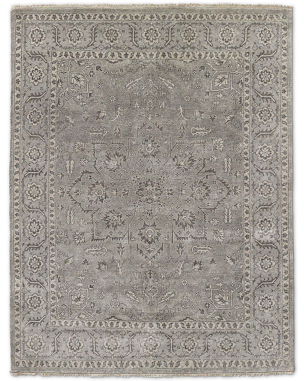 Katya Rug - Grey/Light Grey