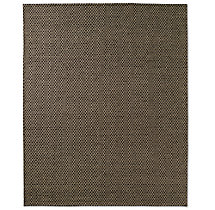 Honeycomb Wool Rug - Charcoal