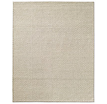 Honeycomb Wool Rug - Oatmeal