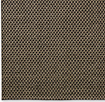 Honeycomb Wool Rug Swatch - Charcoal