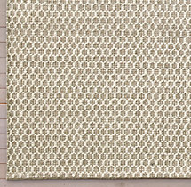 Honeycomb Wool Rug Swatch - Oatmeal
