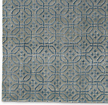 Sera Rug Swatch - Grey/Marine