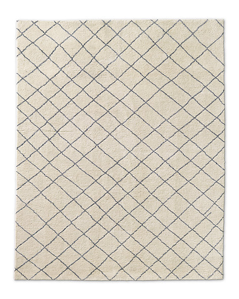 Grata Rug - Ivory/Light Grey