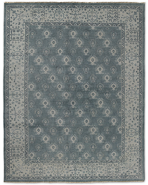 Mila Rug - Light Grey/Blue