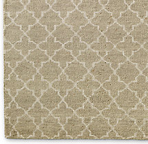Trevo Moroccan Rug Swatch - Camel
