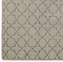 Trevo Moroccan Rug Swatch - Silver