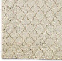 Trevo Moroccan Rug Swatch - Natural