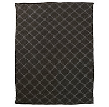 Braided Octagon Wool Rug - Mocha