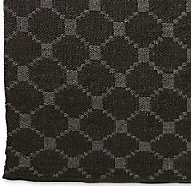 Braided Octagon Wool Rug Swatch - Mocha