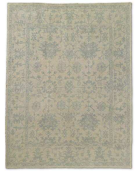 Milena Rug - Ivory/Light Blue