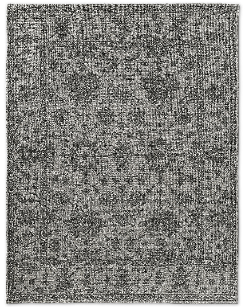 Milena Rug - Light Grey/Grey