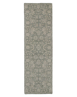Milena Rug - Light Grey/Ivory
