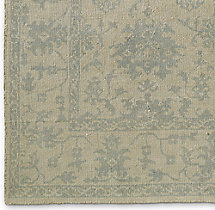 Milena Rug Swatch - Ivory/Light Blue