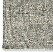 Milena Rug Swatch - Light Grey/Ivory